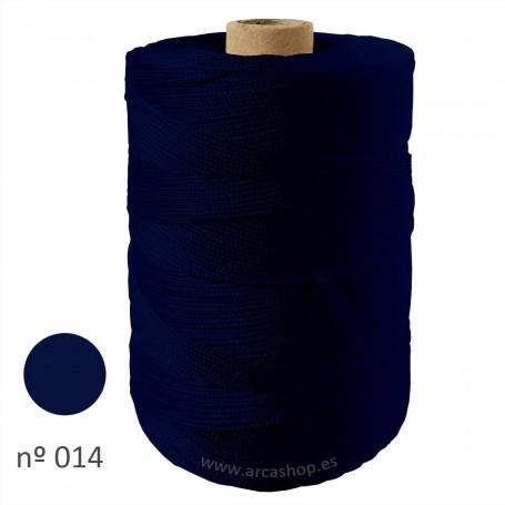 Hilo Cuquillo Flamenca azul ultramar  Rollo.