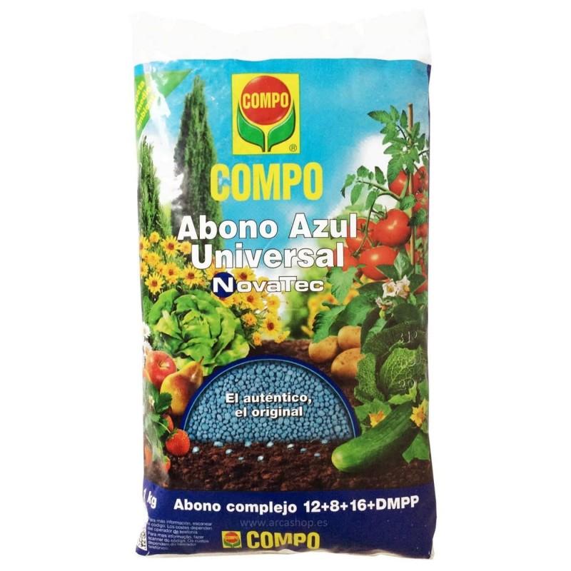 abono granulo azul plantas y jard n para la huerta y el jard n