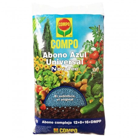 Abono Granulo AZUL Plantas y Jardín COMPO