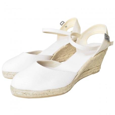 Zapatos de Esparto con Cuña Flamenca Paseart