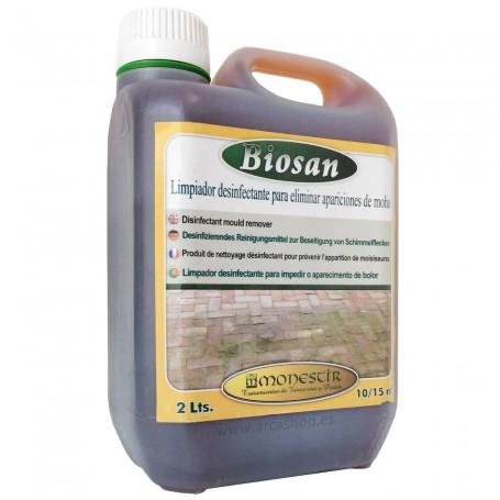 Biosan Limpiador Desinfectante Moho Monestir suelos rústicos