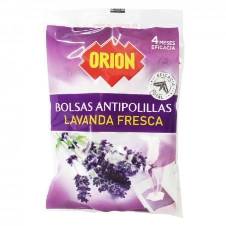 Bolsas alcanfor o naftalina Antipolillas Lavanda Fresca Orion