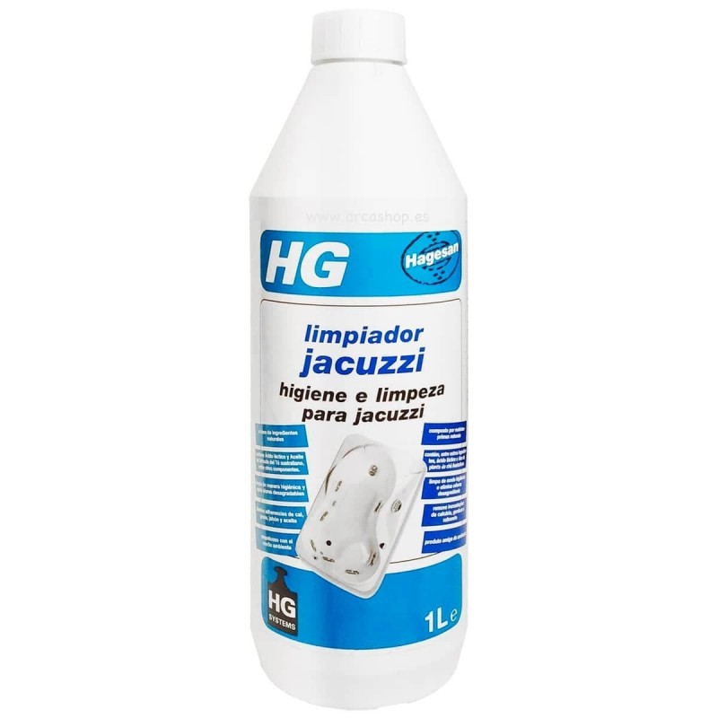Limpiador Jacuzzi (Hidromasaje) HG