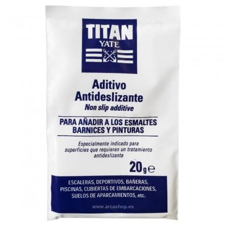 Aditivo Antideslizante Polvo Esmaltes y Barnices TITAN YATE