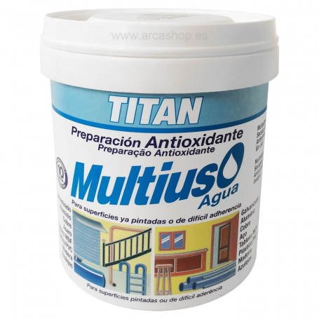 Blanco Imprimación Selladora Preparación Multiusos Antioxidante TITAN al Agua