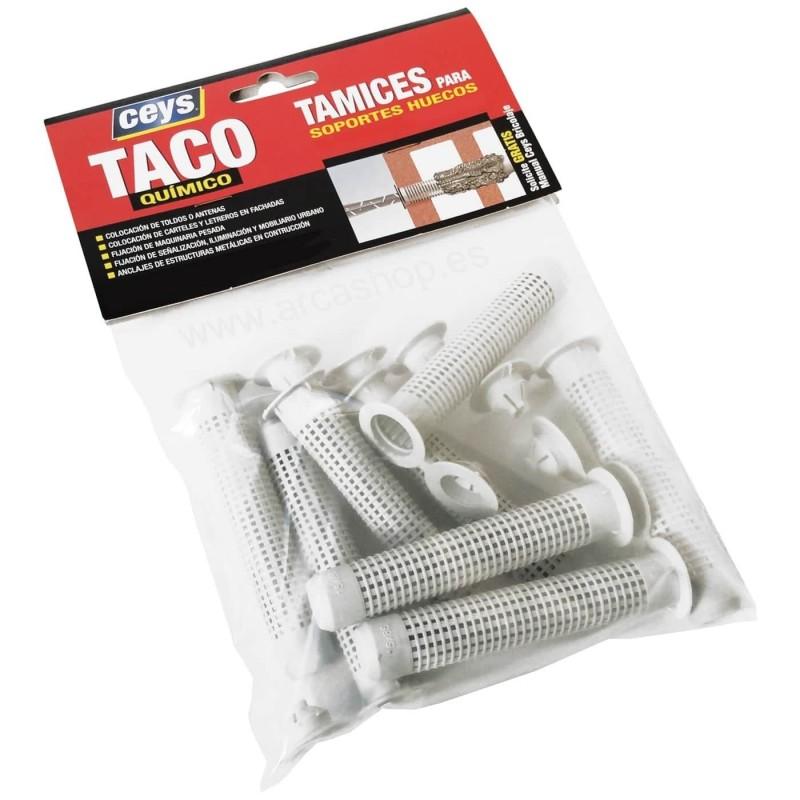 Tamices Taco Químico Soportes Huecos Ceys