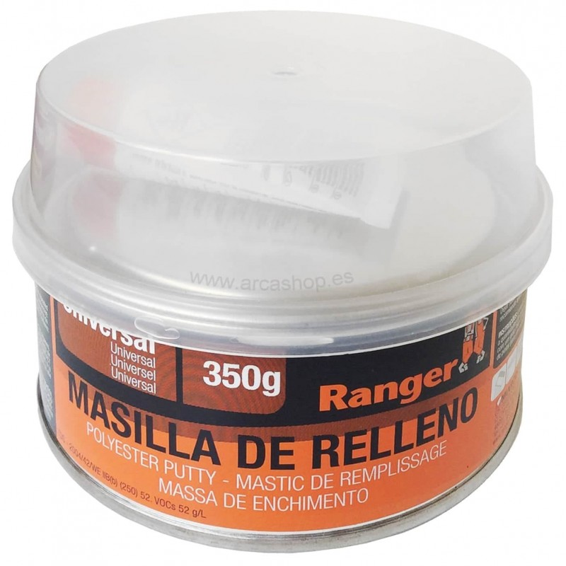 Masilla de relleno poli ster 2 componentes ranger - Pasta para reparar madera ...
