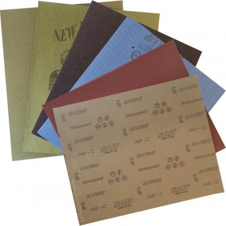 Lijas de Papel Madera nº 000,  nº 00,  nº 0,  nº 1,  nº 2 y  nº 3