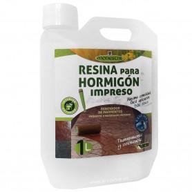 Resina Protectora e Impermeabilizante para Hormigón Impreso