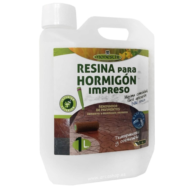 Resina Protectora e Impermeabilizante para Hormigón Impreso Monestir