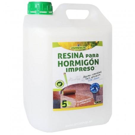 Resina Hormigón Impreso 5 litros Monestir
