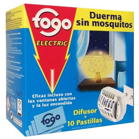 Difusor eléctrico Pastillas Fogo antimosquitos