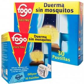 Fogo, pastillas recambio antimosquitos para difusor eléctrico FOGO.