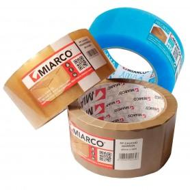 Cinta Embalar PP Caucho Miarco. Cinta adhesiva mudanzas, embalaje cajas pedidos online, etc