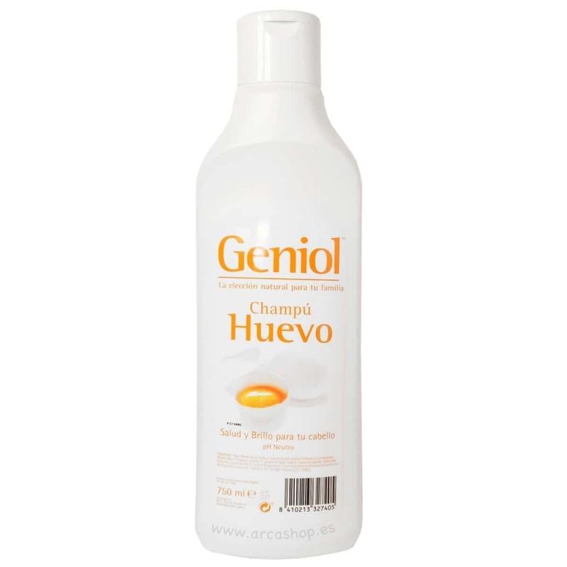 Champú Geniol Fresa, Manzana, Infantil y Huevo.