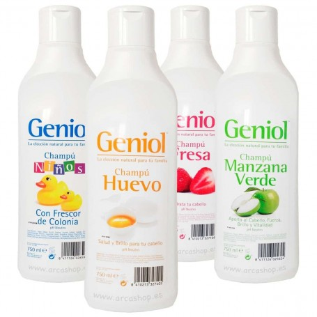 Champú Geniol 750 ml