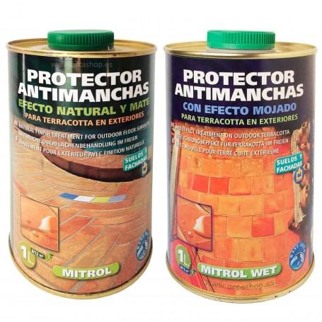 Mitrol - Protector Suelos Antimanchas. Efecto Natural y Mate