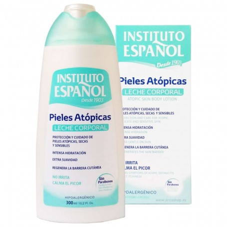 Leche Corporal Hidratante Pieles Atópicas Instituto Español