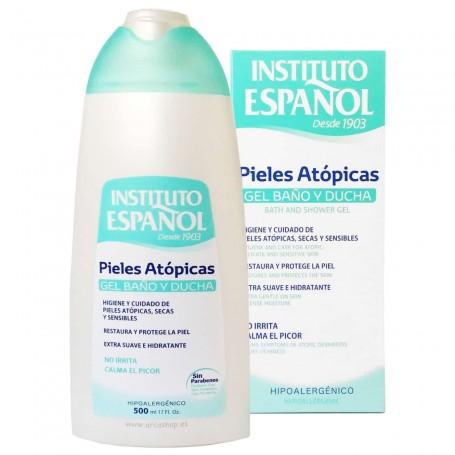 Pieles secas y sensibles. Gel de Baño y Ducha Hidratante Pieles Atópicas Instituto Español