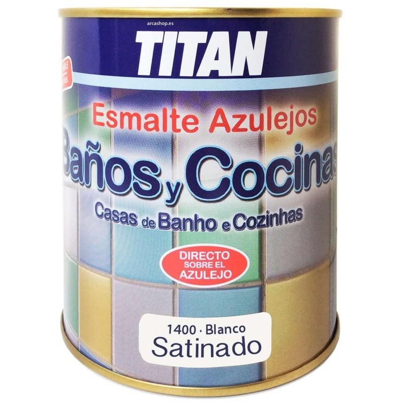 Esmalte Azulejos Titan Baño y Cocina. Satinado