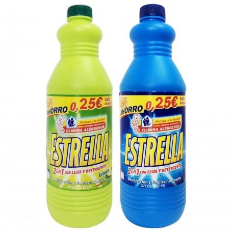 Estrella Azul 2en1 Lejía y Detergente.
