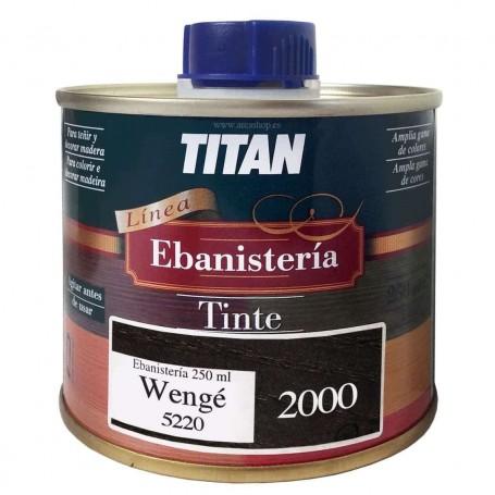 Tinte Ebanisteria 2000 Wengué Titan. Al Disolvente.
