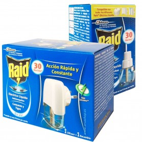 Líquido recambio antimosquitos Raid Mosquito tigre y mosquitos comunes