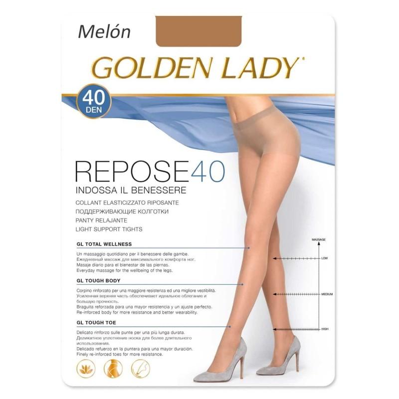 392f02a85 REPOSE 40 DEN Panty descanso con Lycra GOLDEN LADY