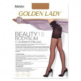 Panty Faja Adelgazante Melón BEAUTY 15 BODYSLIM Panty de Lycra GOLDEN LADY