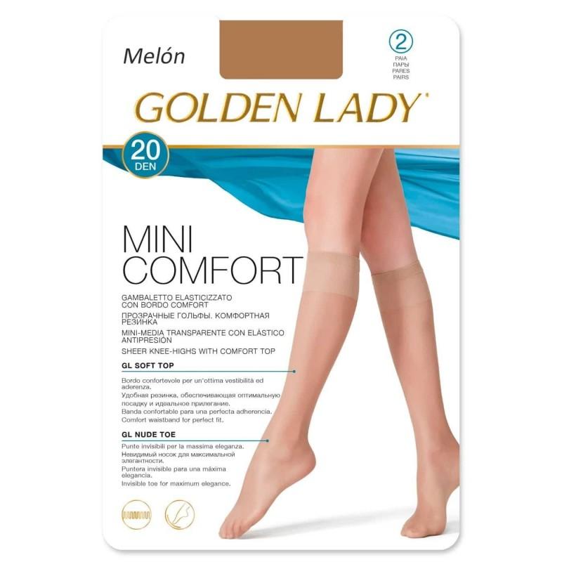 Calcetín MIni Confort 20 DEN. Mini-media suave. GOLDEN LADY