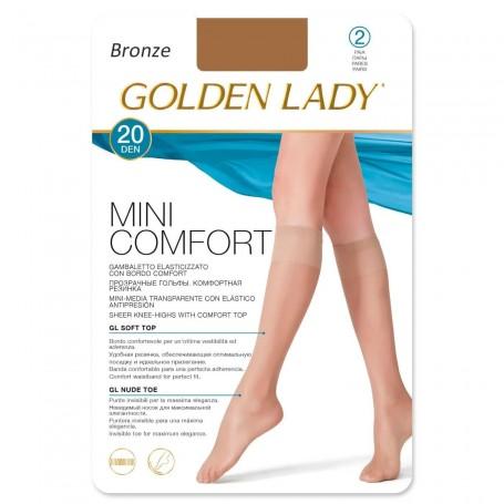 Calcetín MIni media Tostado Bronze Confort 20 DEN. Mini-media suave.