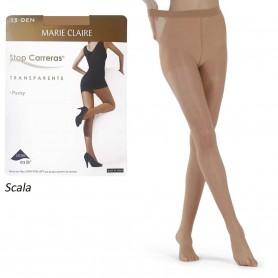 Color Carne Scala. Panty con lycra Marie Claire Stop Carreras 15 DEN