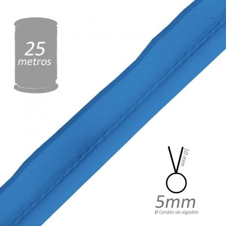 Vivo Azul con cordón de algodón 5 mm batista Byetsa