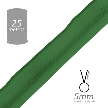 Vivo Verde Mayo con cordón de algodón 5 mm batista Byetsa
