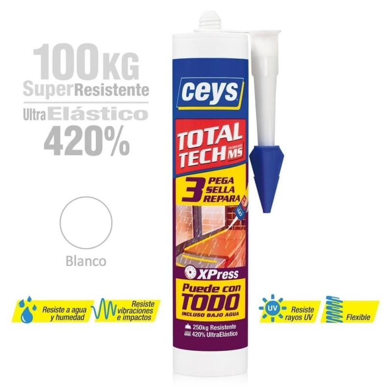Total Tech Sellador Adhesivo Multiuso Ceys