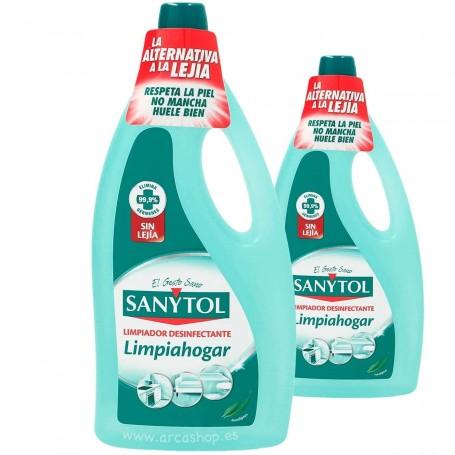 Sanytol Limpiador Desinfectante 2 Litros. Suelos, encimeras, baños, feragderos, ect