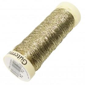 Hilo Coser Gütermann Dorado. Color Oro. Carrete 50 metros