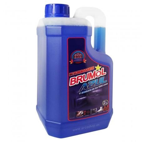 Brumol Azul Quitagrasas Desengrasante Uso Profesional y Doméstico
