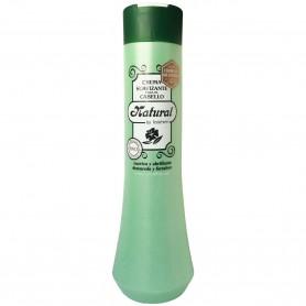 Crema Suavizante Cabello Natural de Laiseven 1 litro Uso frecuente y familiar
