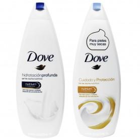 Gel de Baño y Ducha. Dove Cuidado y protección
