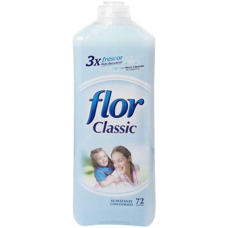 Flor Azul Classic. Suavizante Flor Concentrado 72 lavados