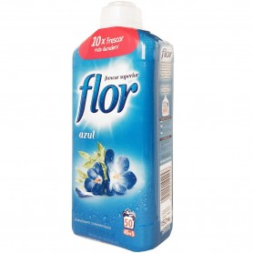 Flor Bote Azul Suavizante Concentrado Lavadora 50 lavados