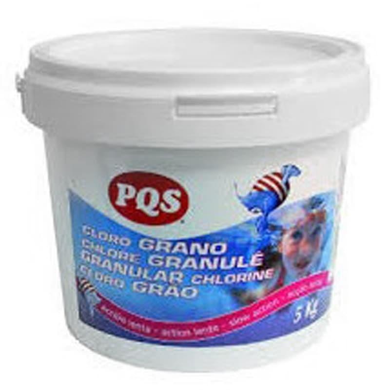 Cloro en grano PQS