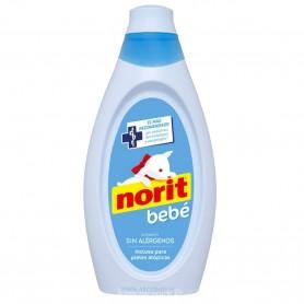 Norit Ropa delicada y prendas Bebé. Recién nacidos de 2 a 12 meses. Detergente lavadora y a mano