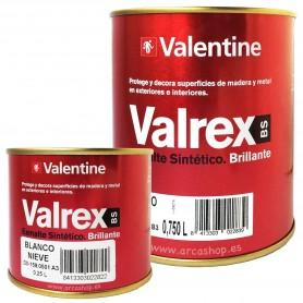 Esmalte 4 litros Sintético Valrex Valentine BS. Esmalte Brillante