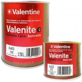 Esmalte Laca  Blanca Satinada Valrex Valentine BS Teflon