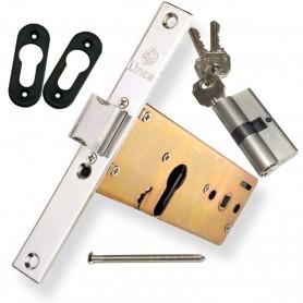 Cerraduras LINCE 5578 Embutir para perfiles zócalo en Puertas Metálicas