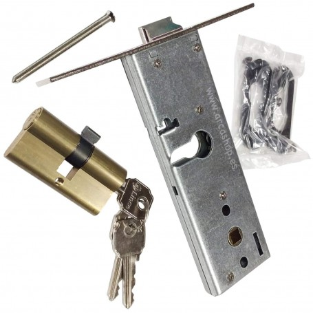 LINCE 5578-70 Cerradura Embutir para perfiles zócalo en Puertas Metálicas