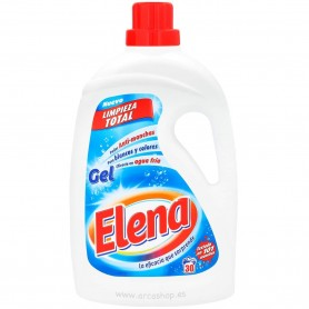 Elena Gel Detergente Lavadora 30 lavados