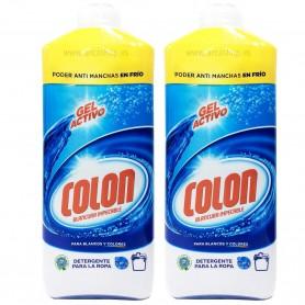 Detergente Líquido Gel Lavadora COLON 25 lavados